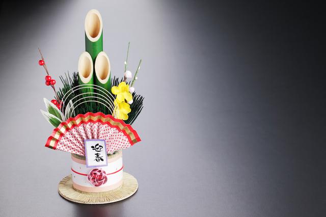 門松のお正月飾り