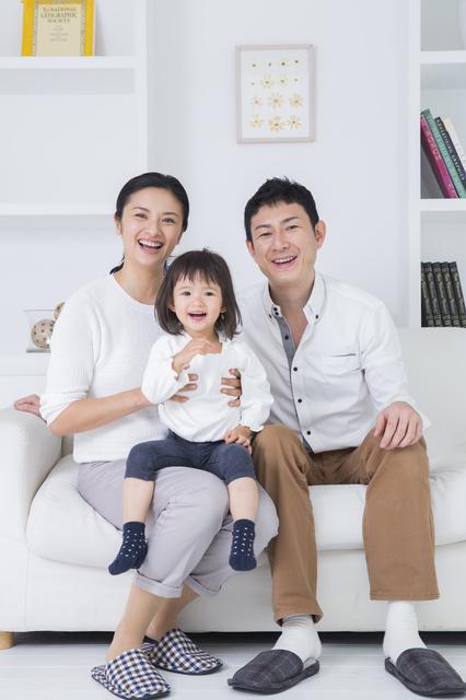 家族写真 縦構図