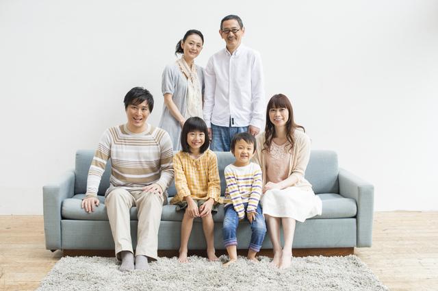 家族写真 3世代